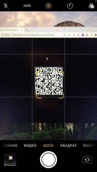 Как считать QR-код на смартфоне: включите камеру и наведите объектив на QR-код