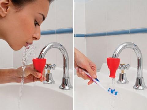 Тапи - питьевой фонтанчик в ванной
