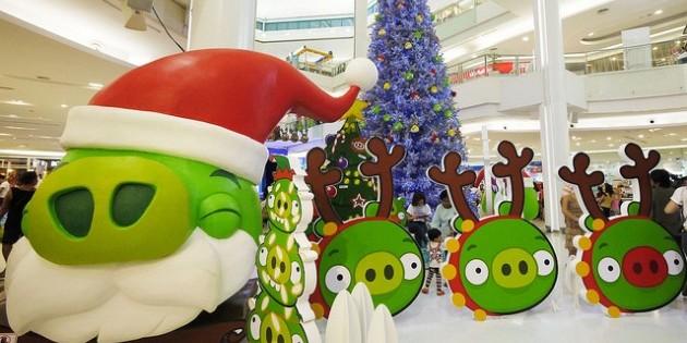 Новогодние украшения своими руками: Angry Birds - Лайфхакер