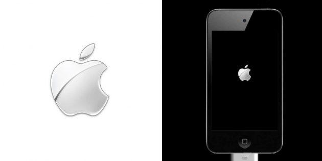 Chrome-версия лого «яблочной» компании