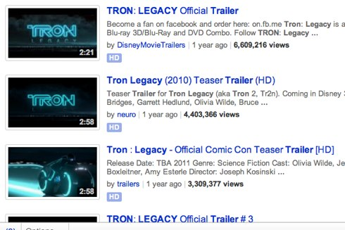 Tron_ Legacy trailer, hd