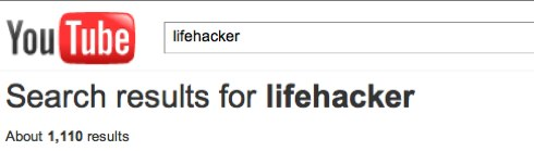 YouTube - lifehacker