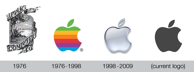 Кто придумал логотип ейпл само яблукл