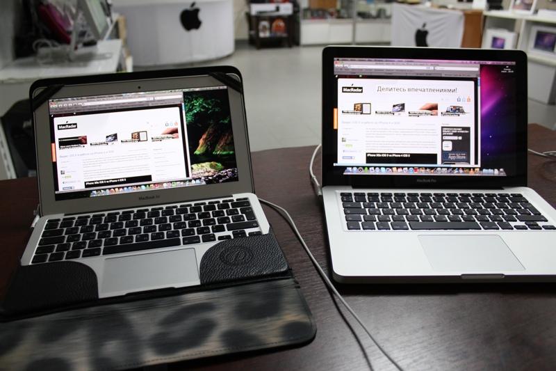 """MacBook Pro 13"""" в редакции 2011 года: впечатления, сравнение с Air 11.6"""", некоторое разочарование"""