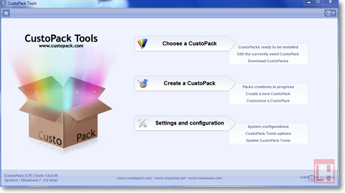 CustoPack: новое оформление Windows