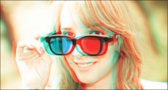 Как сделать для фото эффект 3д