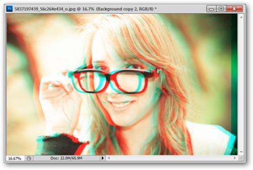 как сделать 3d картинку в фотошопе
