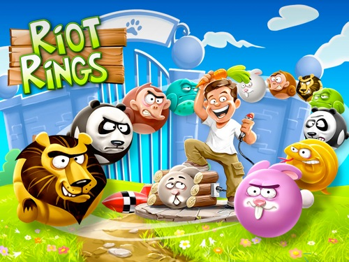 Riot Rings: спасем зверей!