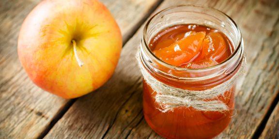 Как сварить красивое яблочное варенье?