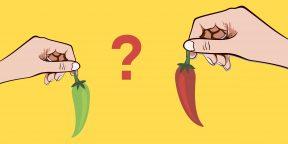 Что делать, если горят руки после острого перца