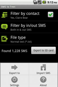 Резервное копирование сообщений и истории звонков на Android