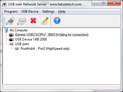 USB over Network Server