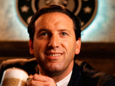 Ховард Шульц (Howard Schultz), гендиректор Starbucks