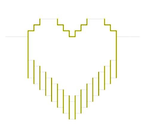 отличие постановочных как сделать открытку пиксельное сердце богиня