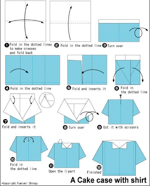 Как делать открытку в виде рубашки с галстуком