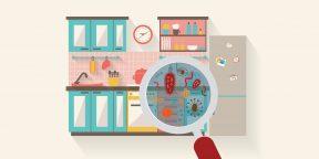 5 самых грязных мест на кухне, которые нужно держать в чистоте