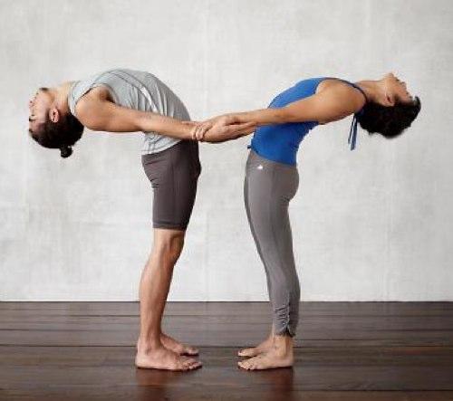 Позы йоги в паре для секса