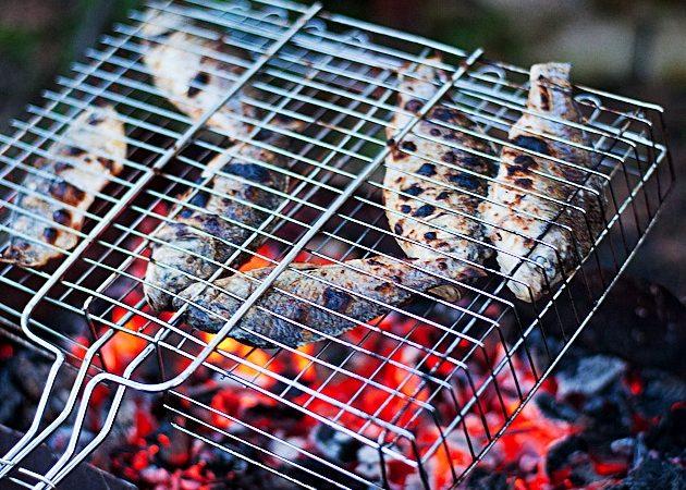 РЕЦЕПТЫ: готовим рыбу на гриле