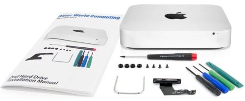 Как подключить дополнительный жёсткий диск к Mac mini 2011 года