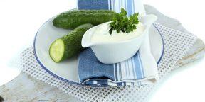 РЕЦЕПТЫ: Мятно-огуречный йогурт