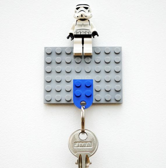 Держатель для ключей из LEGO