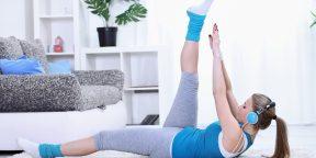 Домашний спортзал: упражнения для всего тела