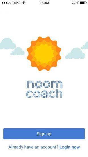 Noom Coach: главный экран