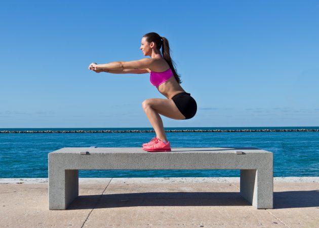 Домашний спортзал: упражнения для ног