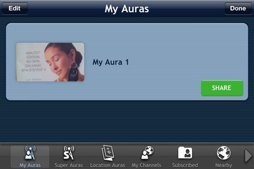 Приложение Aurasma для создания дополненной реальности