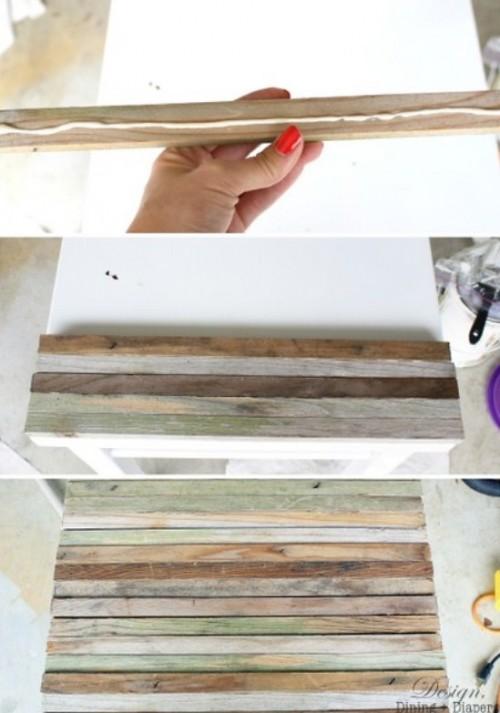 DIY: как обновить стол, используя подручные средства