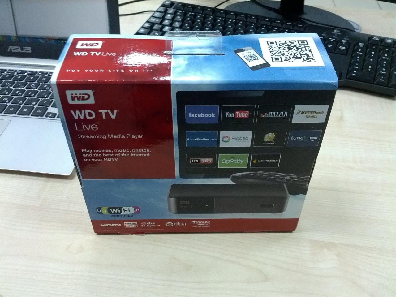 Инструкция медиаплеер wd tv live