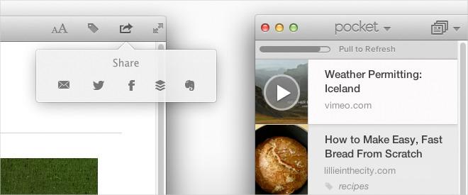 Pocket уже в Mac App Store!