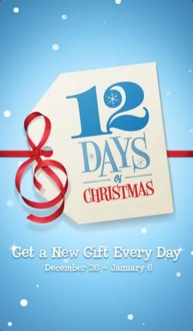 Грядет сезон подарков в iTunes и акция «12 Days of Christmas»