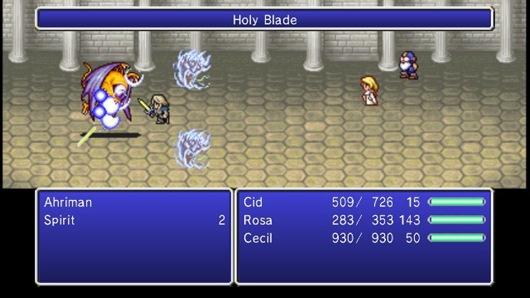 Final Fantasy IV для iOS выйдет 20-го декабря