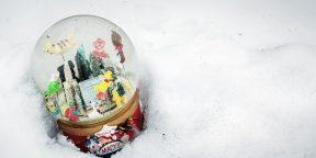 Как сделать стеклянный снежный шар
