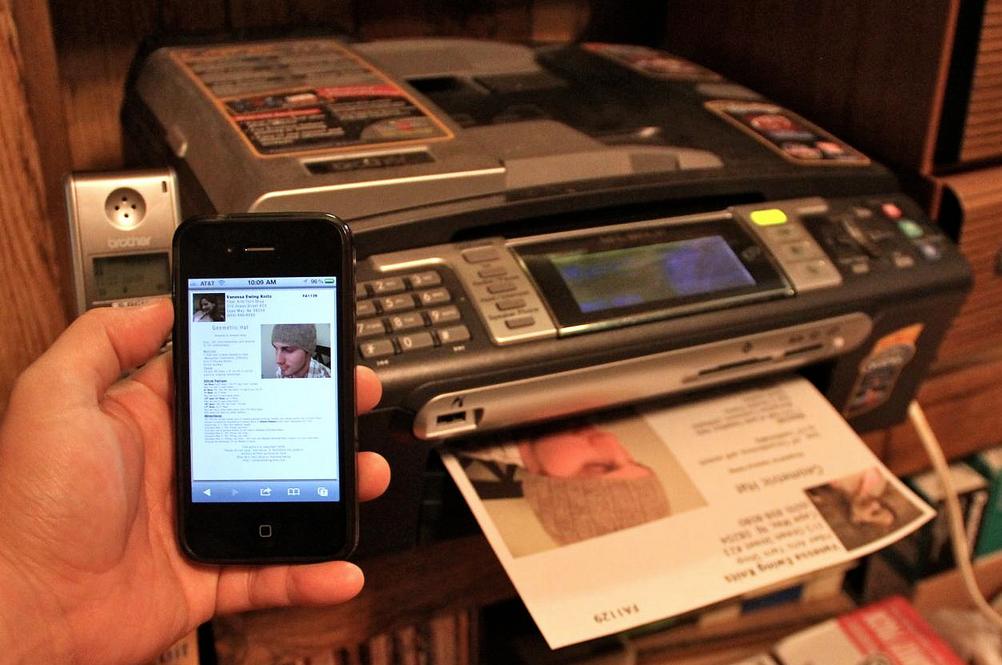Как печатать документы с iPhone и iPad