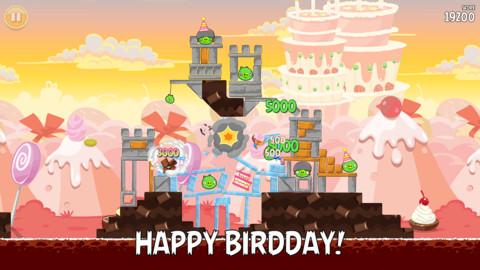 Angry Birds отметила третий День Рождения новой версией 3.0