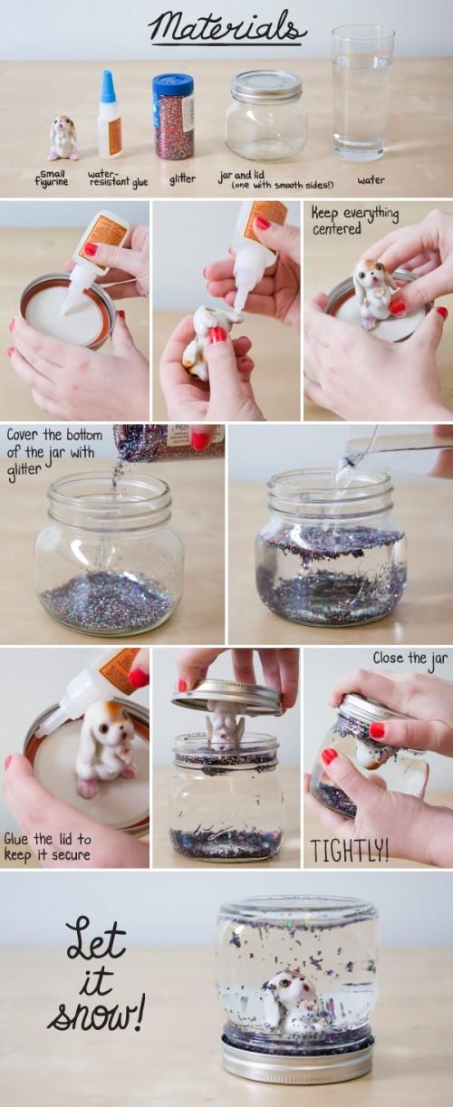 Сделать стеклянный шар своими руками