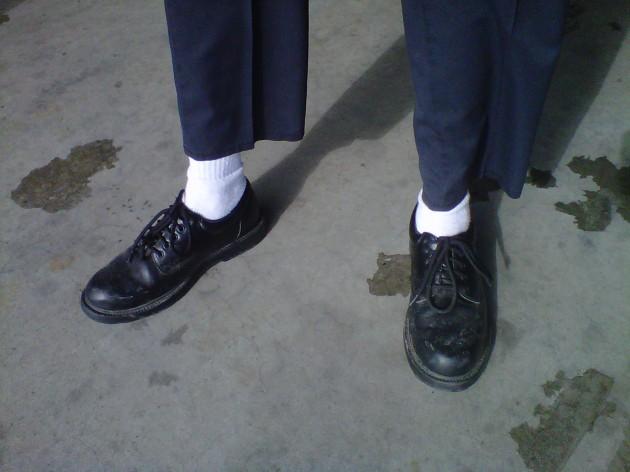 Сперва в туфлях, элементы эротики откровения