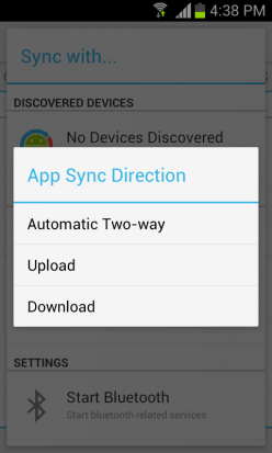 Sync-Direction