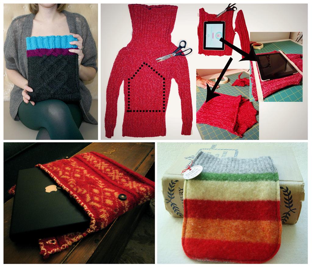 Красный свитер своими руками фото 382