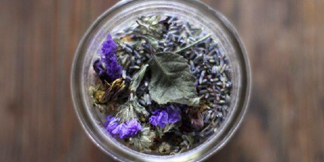 Ароматизатор из сухих цветов