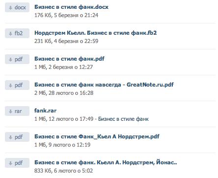 Как использовать - ВКонтакте - для быстрого поиска книг