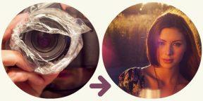ФОТОЛАЙФХАК: 1 фотообъектив + 1 пластиковый пакет = Винтажные фото