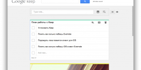 Google Keep — Evernote от поискового гиганта