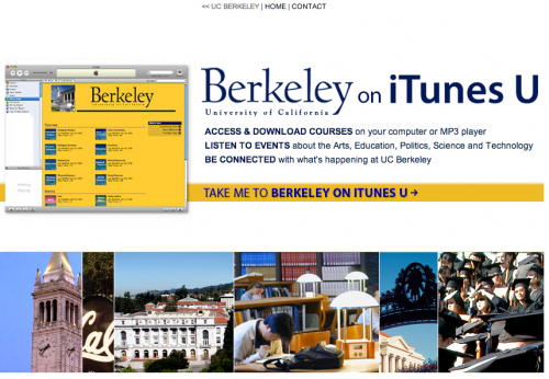 UC Berkeley on iTunes U