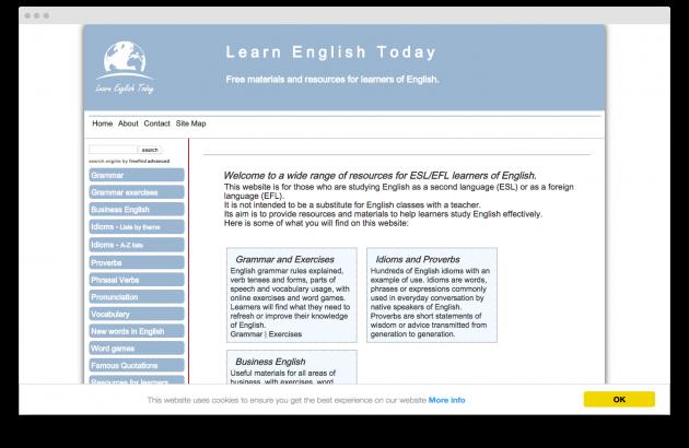 сайт для изучения иностранных языков