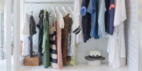 Весенняя уборка: как быстро и легко разобраться в одёжном шкафу