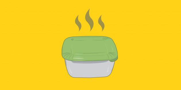Как убрать неприятный запах из пластикового контейнера