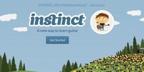 Get Instinct - онлайновый самоучитель игре на гитаре